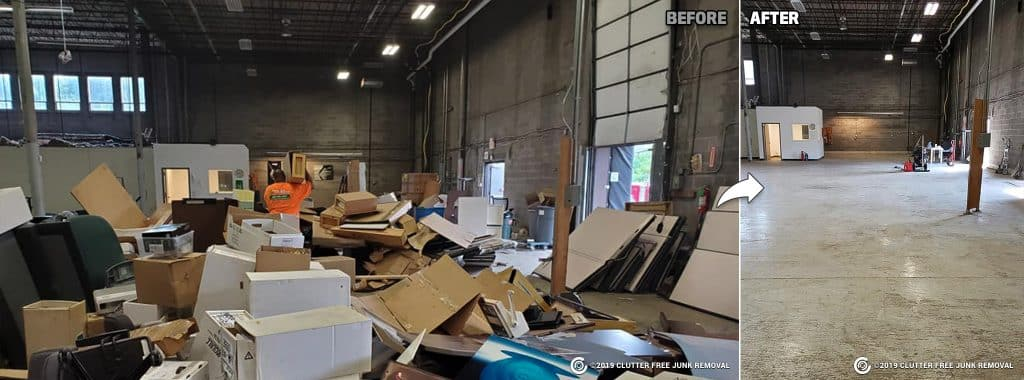 warehouse cleanup