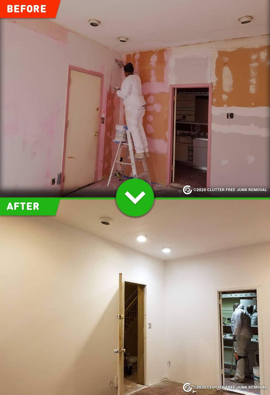 Repainting & Wall Repairs