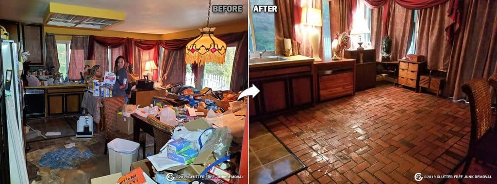 hoarder Home Cleaning