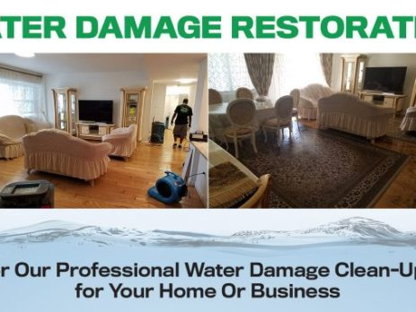 flood water recovery and restoration in New York, NY.