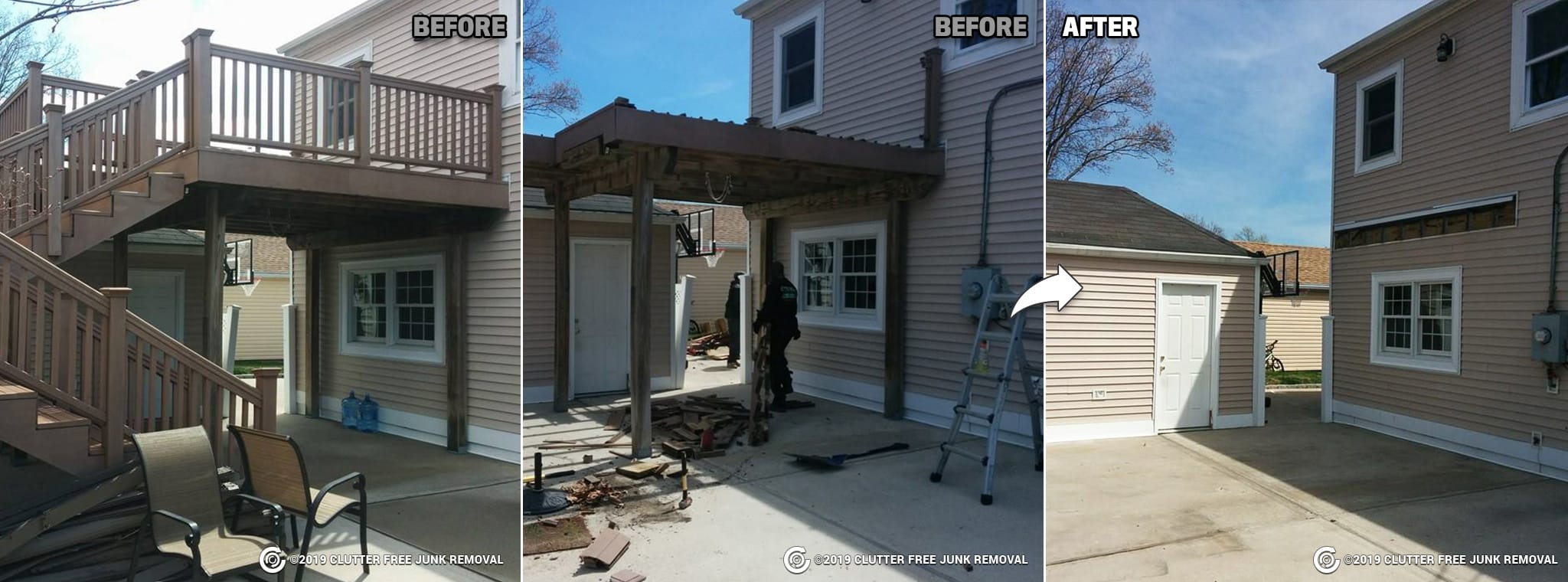 Deck Removal Long Island