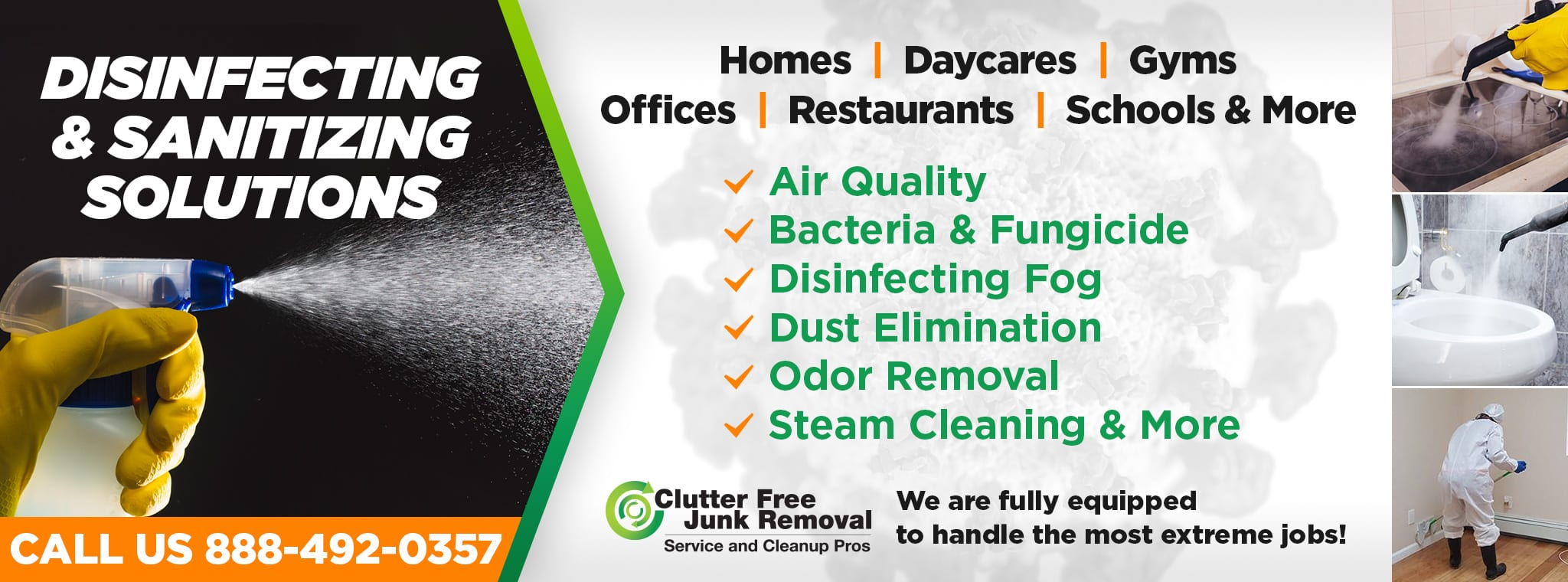 Sanitizing Service in New York, NY. and Tri-State Area