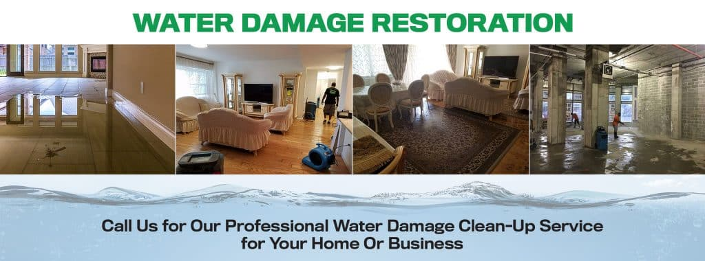 flood water and sewage recovery and restoration in New York, NY.