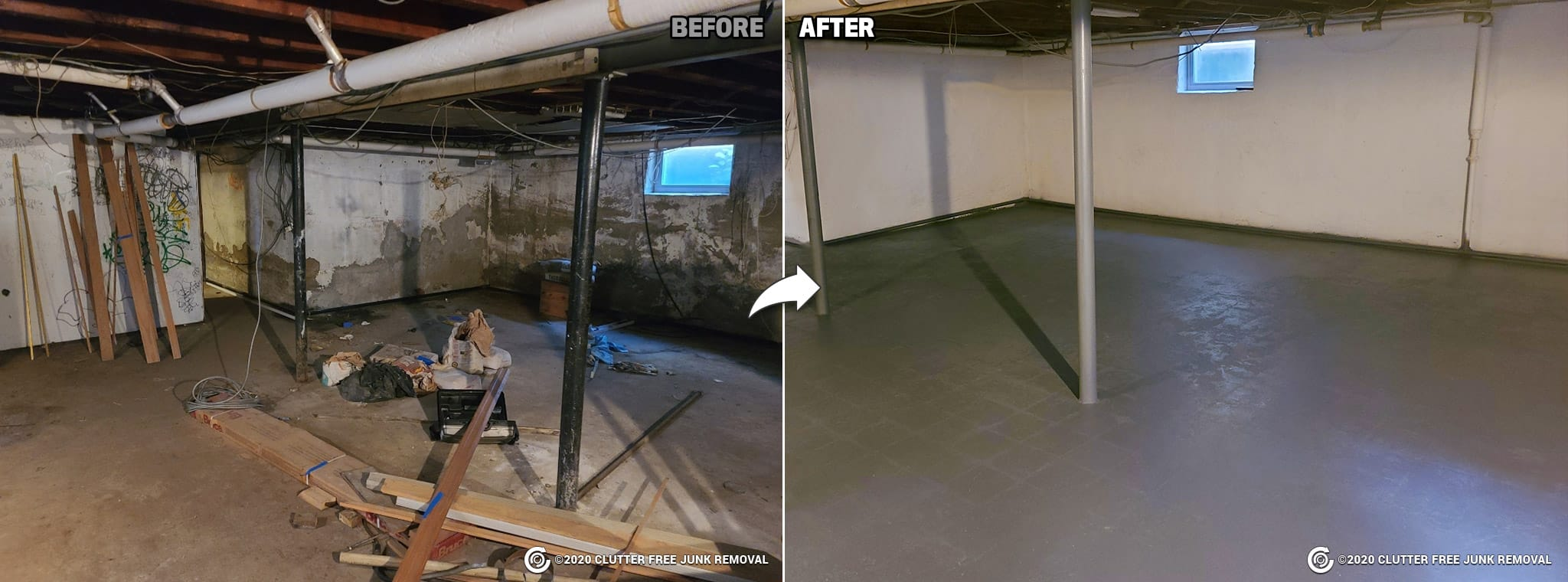 Basement and Attic Cleanup Service