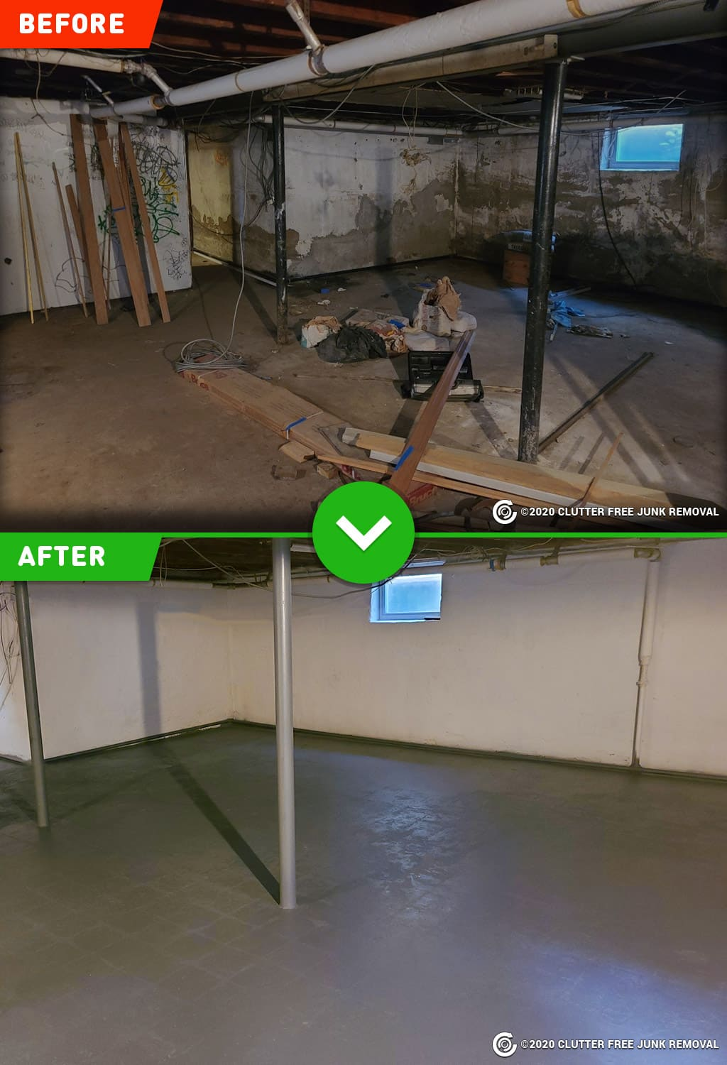 Basement and Attic Cleanup Service in NYC